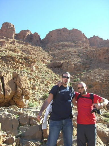 Marc and Philipp @ Dades, Morocco 2007